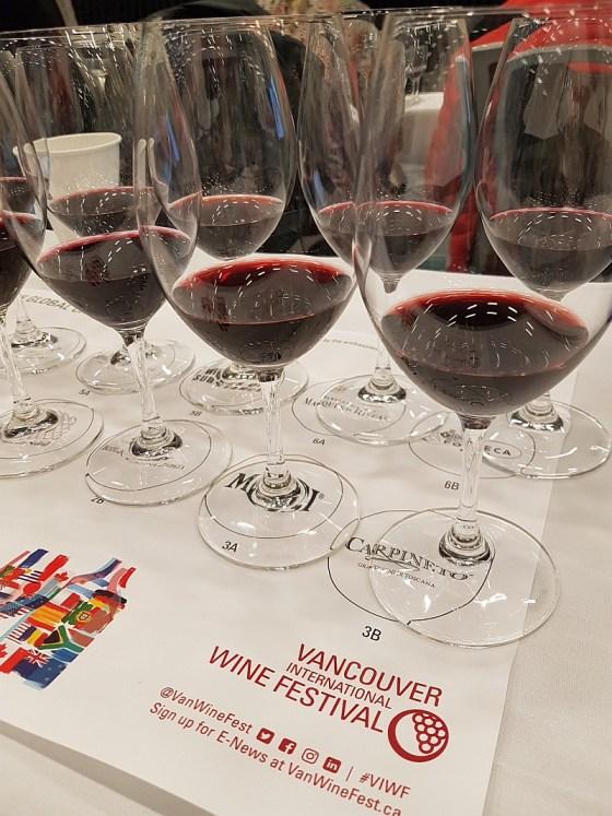 The Global Cru at VanWineFest 2020 wines