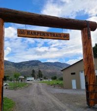 Harper's Trail entrance
