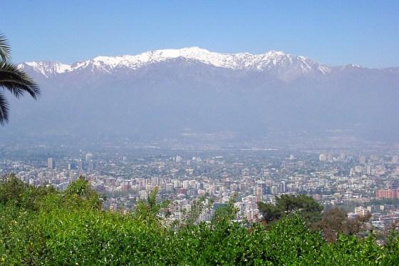 Santiago Metropolitan Park via the Funicular of Santiago