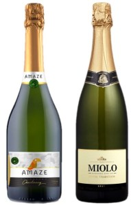 Amaze Sparkling Wine Brut Chardonnay and Miolo Cuvee Brut