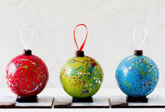 Chocolate ornaments from Temper Chocolate & Pastry (Photo credit: Jamie Lauren Photography)