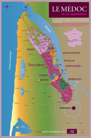 Medoc and its eight appellations