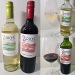 Vina Undurraga 8 Rios Sauvignon Blanc 2019 and Cabernet Sauvignon 2019