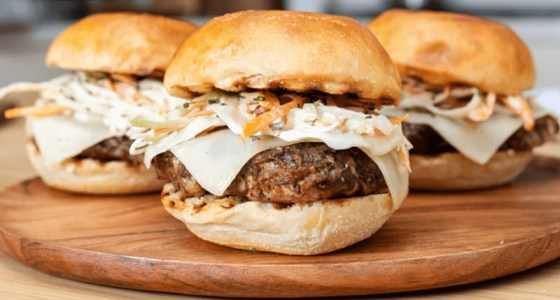 CHEESY JERK PORK SANDWICH (Image courtesy Armstrong Cheese)