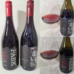 Scorched Earth Winery PASK The Pinot Noir 2015 and Pinot Noir 2016 wines