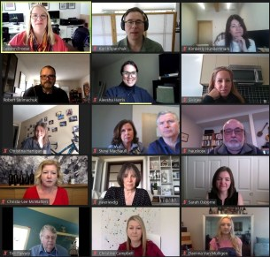 International Women's Day By Virtual Tasting With TIME Winery members and media