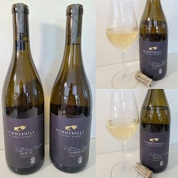 Summerhill Pyramid Winery Estate Grown Biodynamic Muscat and Chardonnay 2020