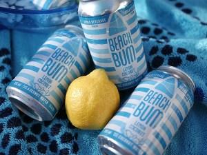 BEACH BUM Lemon Coconut beverage