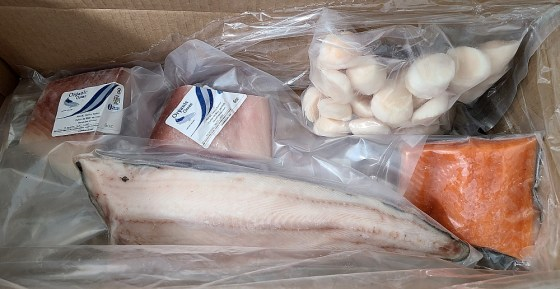 Organic Ocean assorted seafood delivered