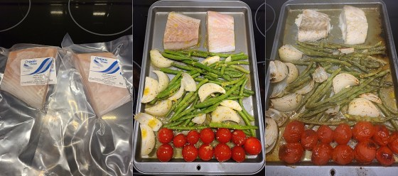 Mediterranean Baked Halibut with halibut from Organic Ocean