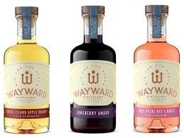 Wayward Distilleries Apple Brandy, Amaro and Gin Liqueur