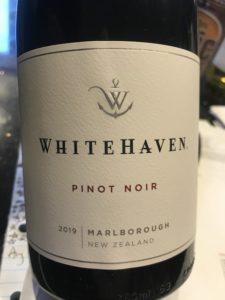 Whitehaven Marlborough Pinot Noir 2019