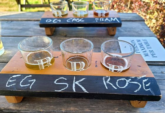 Brickers Cider samples to review