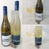 Upper Bench Winery and Creamery Chardonnay 2018 and Riesling 2020