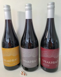 3 Pinot Noirs from Spearhead Winery