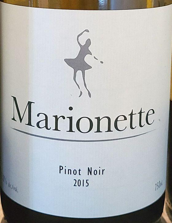 Marionette wine label