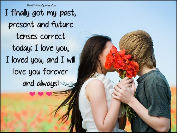 romantic love you messages