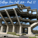 SoCal College Tour Fall 2019 – Part II