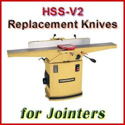 Central Machinery Jointer Blades