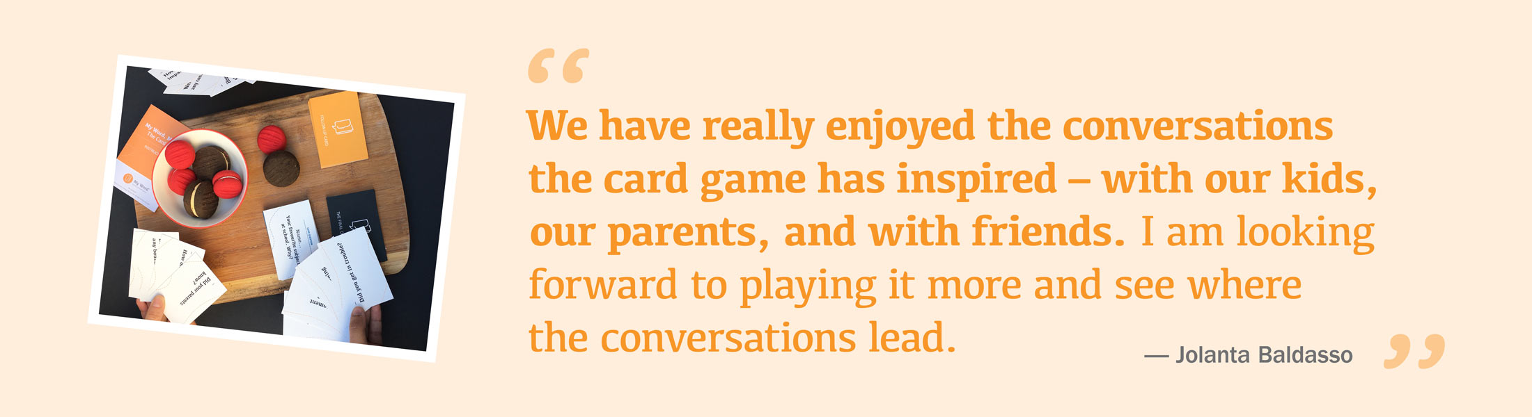 my word my story card game testimonial conversations