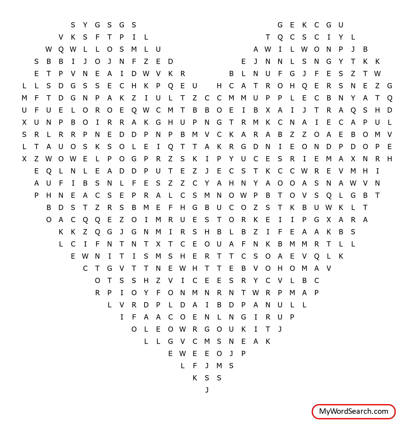 Christmas Cookie Word Search 2