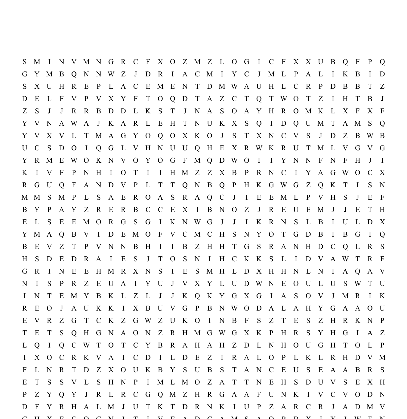 Cognitive Distortions Word Search