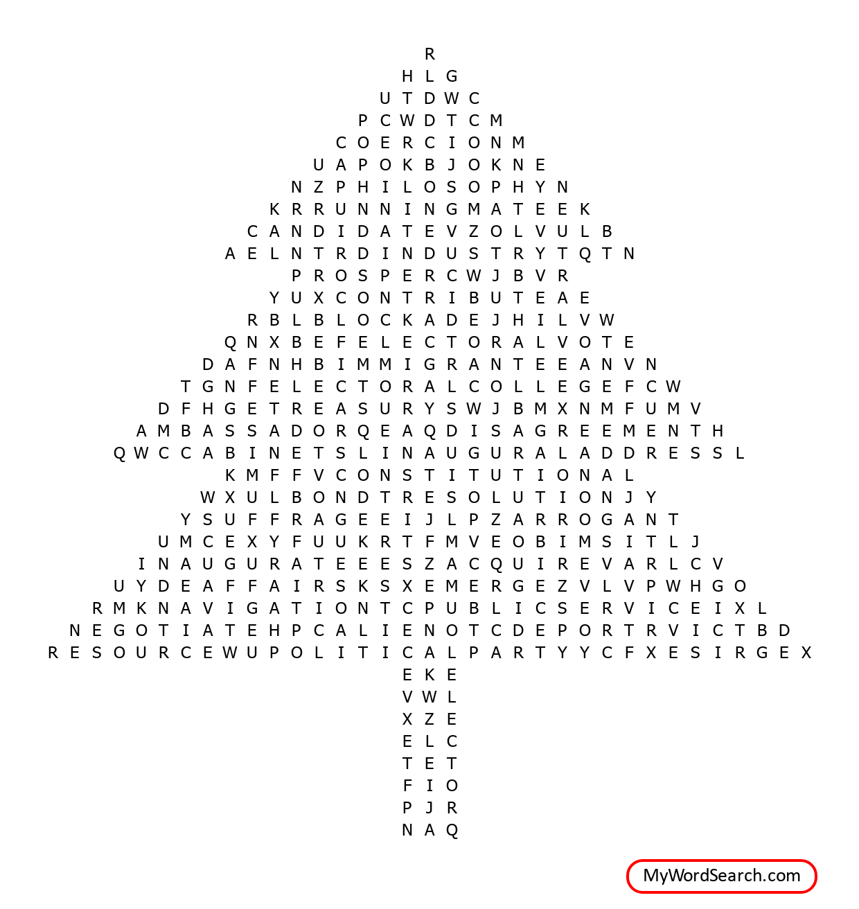 Us History Chapter 8 Word Search