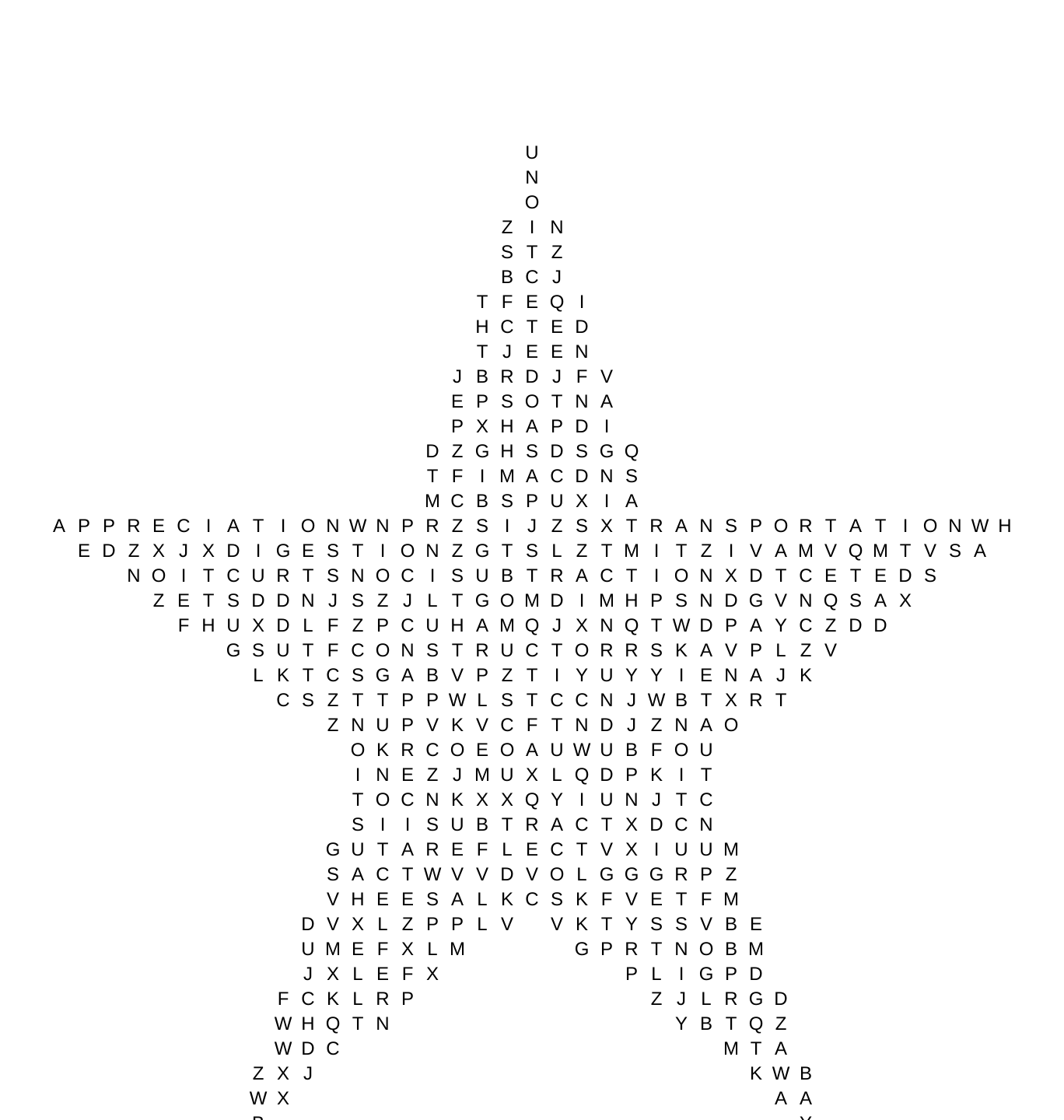 Word Search Tion