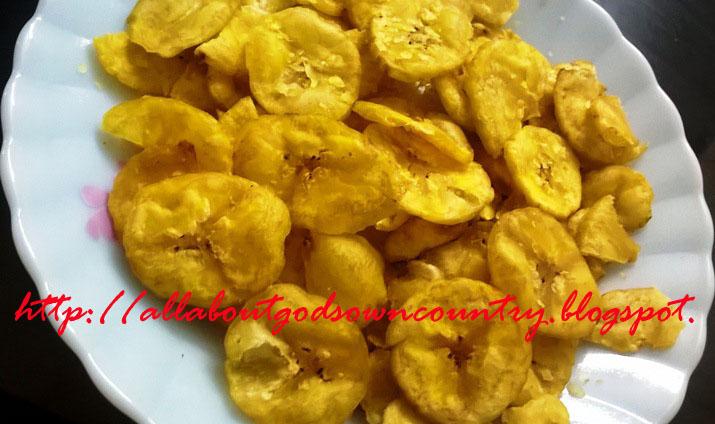 Banana Chips Round