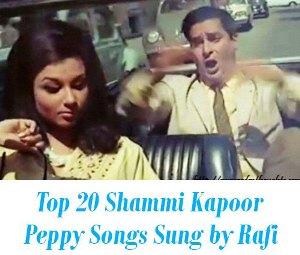 Shammi Kapoor fast dance songs Rafi