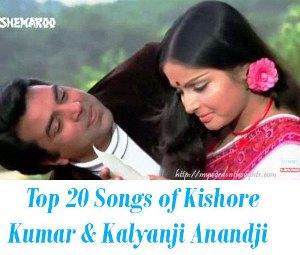 Kishore Kumar Kalyanji Anandji  songs