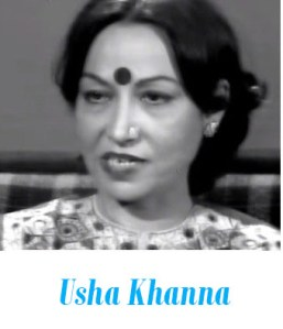 Usha Khanna female Bollywood composer