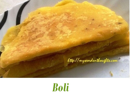 Boli for sadya and payasam