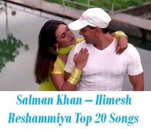 Salman Khan – Himesh Reshammiya songs