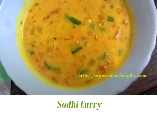 Sodhi Curry