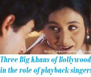 Khans as singers