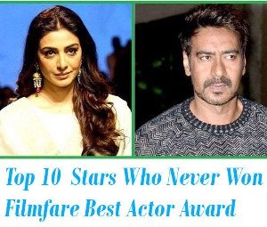 Bollywood Stars Who Never Won Filmfare Best Actor Award