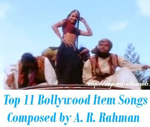 dance numbers A. R. Rahman