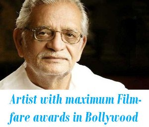 who got maximum Filmfare awards in Bollywood