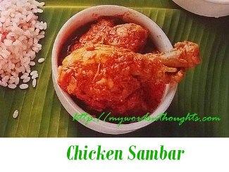 Chicken Sambar