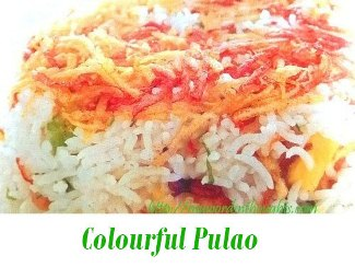 Colourful Pulao
