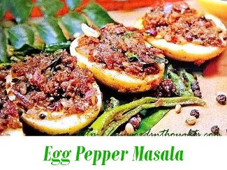 Egg Pepper Masala