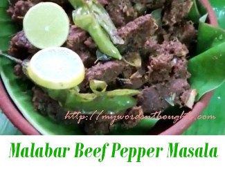 Malabar Beef Pepper Masala