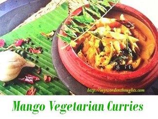 Mango Vegetarian Curries
