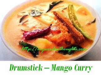 Drumstick – Mango Curry