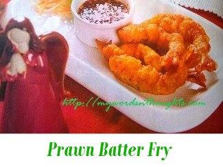 Prawn Batter Fry
