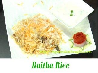 Raitha Rice