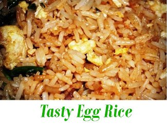Tasty Egg Rice