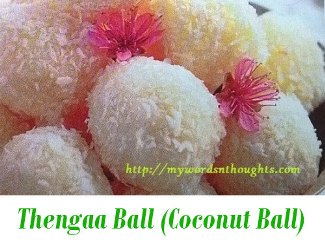 Coconut sweet Ball