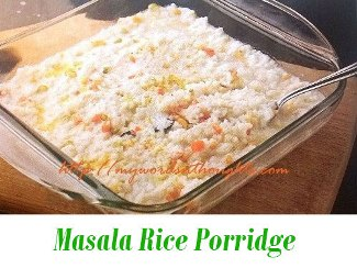 Masala Rice Porridge